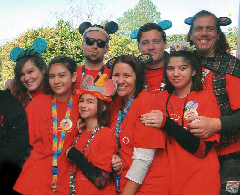 2011 Stevens family Christmas at Disneyland