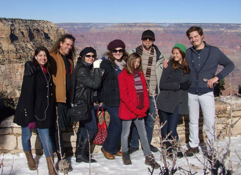 Christmas 2012 at the Grand Canyon