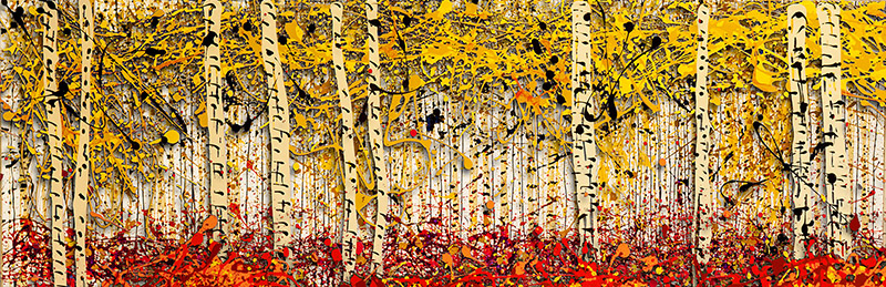 Fall PanorAspens