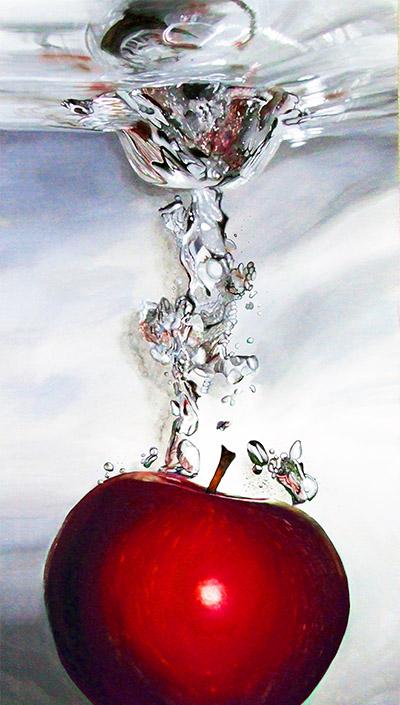 Red Apple Splash