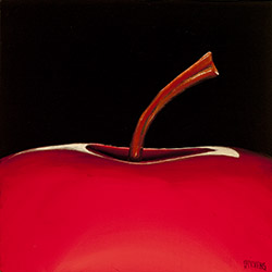 red apple top
